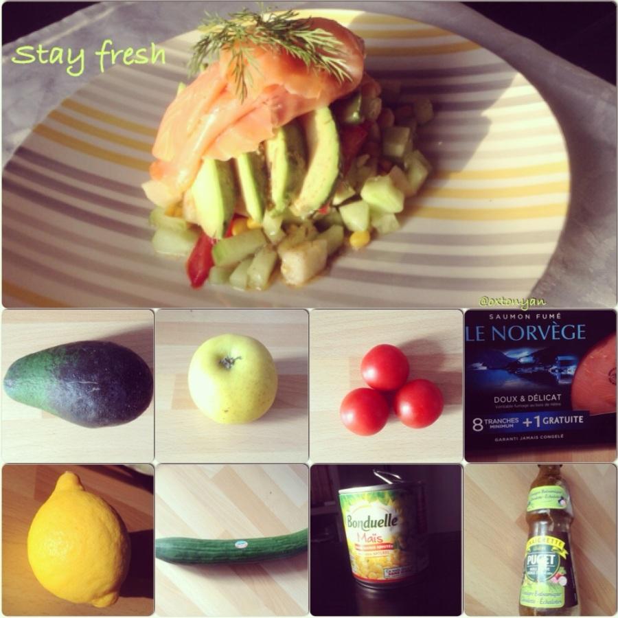 Salade 100% fraîcheur : STAYFRESH