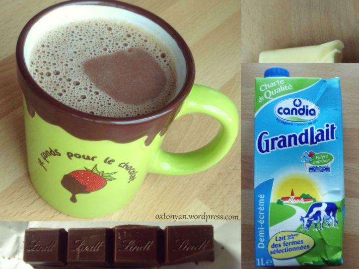 chocolat chaud recette