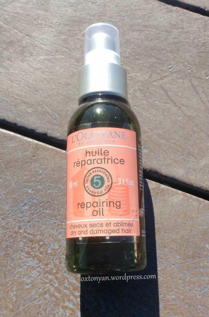 huile reparatrice loccitane