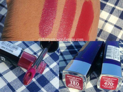rimmel lipstick show off hydra renew