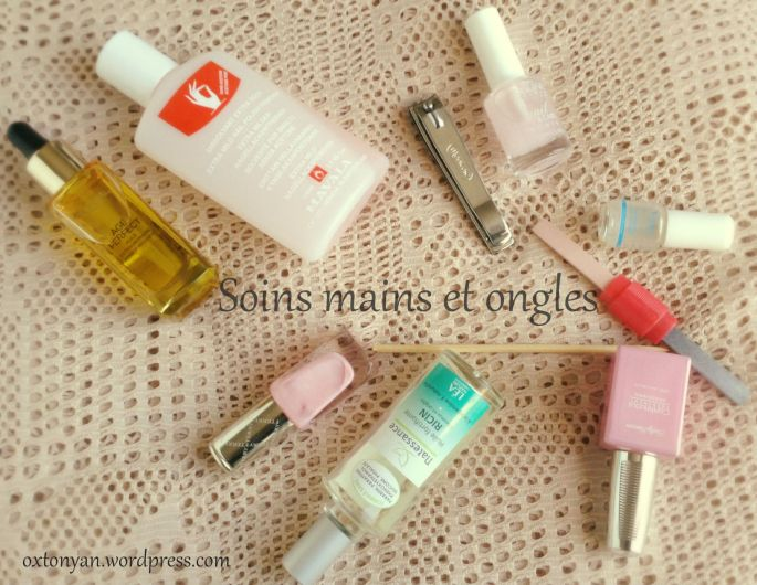 soins mains ongles