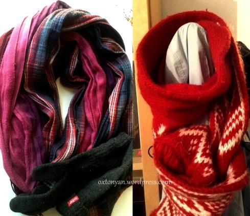 echarpes gants scarves gloves