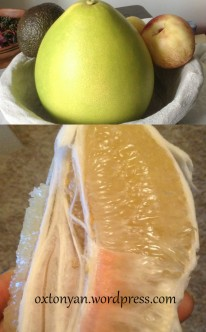 honey pomelo chinois