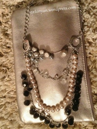 mexx collier perles