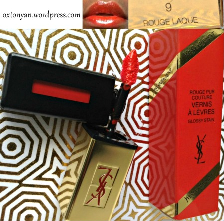 ysl glossy stain #9