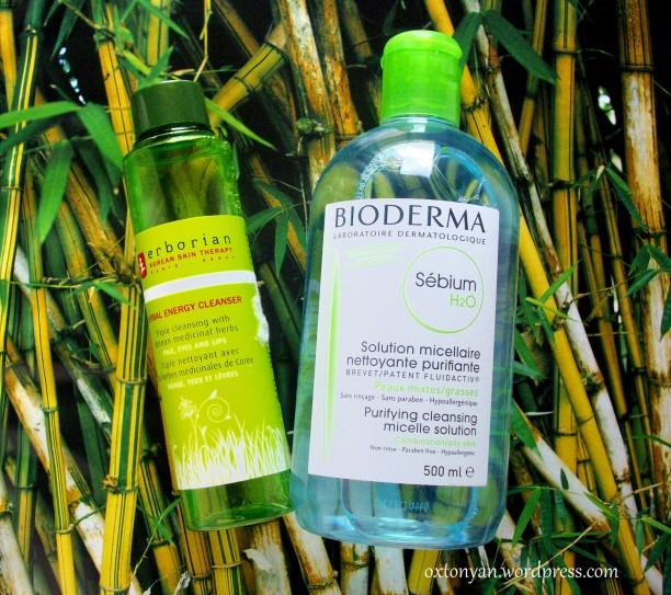 bioderma erborian nettoyant cleanser