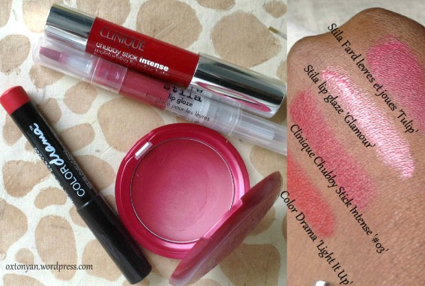 color drama lipi glaze chubby stick intense