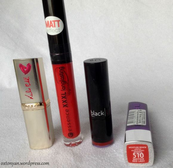 rouges a levres red lipsticks