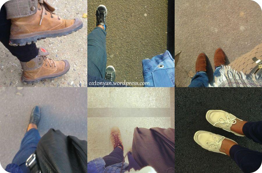 Walking…like an Egyptian