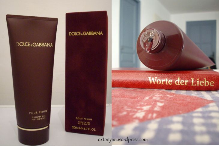 dolce gabbana gel douche the one