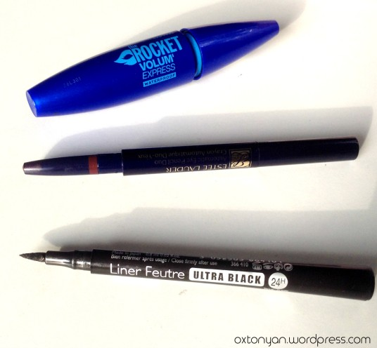 bourjois liner Estee lauder duo yeux Maybelline the rocket