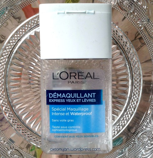 demaquillant express loreal