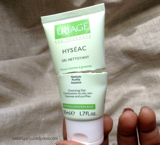 gel hyseac uriage