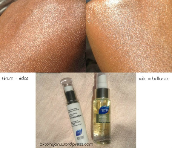 Phyto serum reparateur huile supreme comparaison