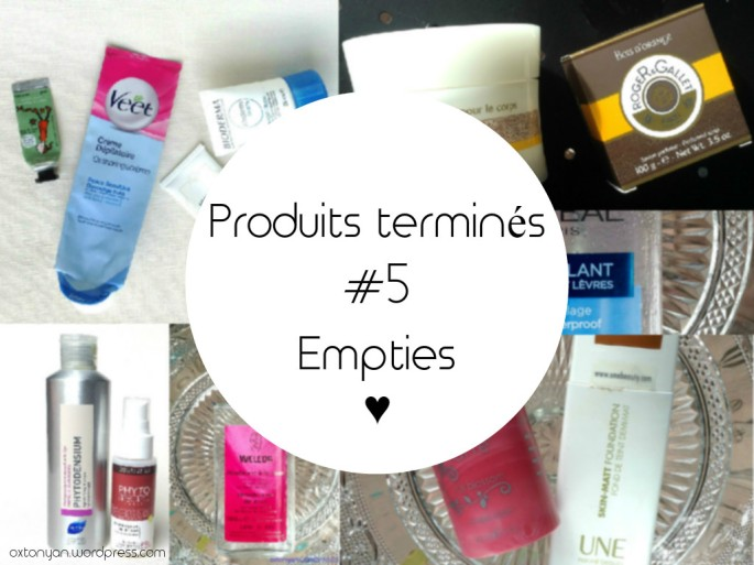produits termines empties 5