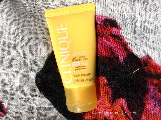 clinique face cream spf30