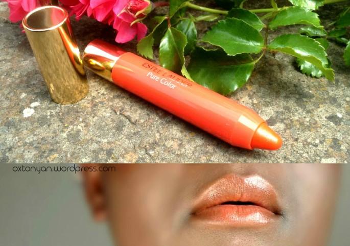 estee lauder pure color bronze goddess mandarin