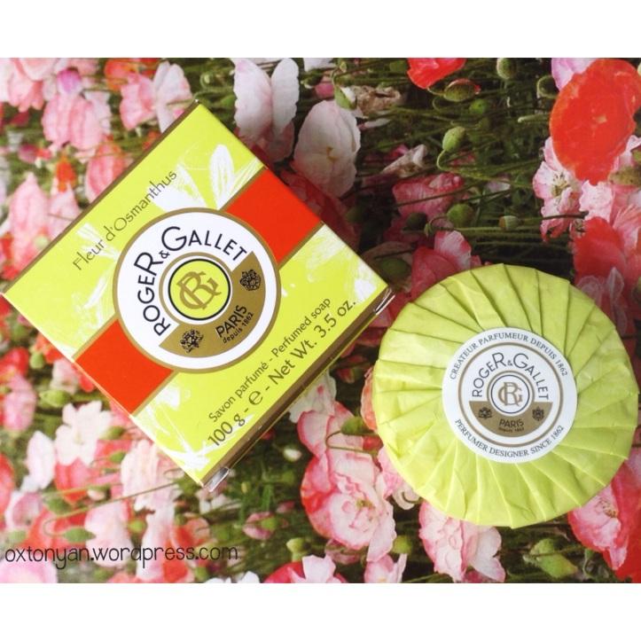 Roger et Gallet fleur d osmanthus savon soap
