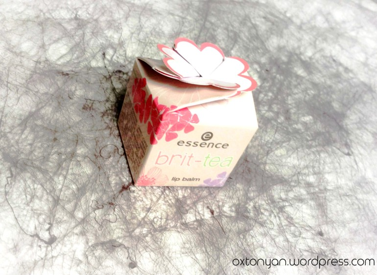 essence brit tea lip balm