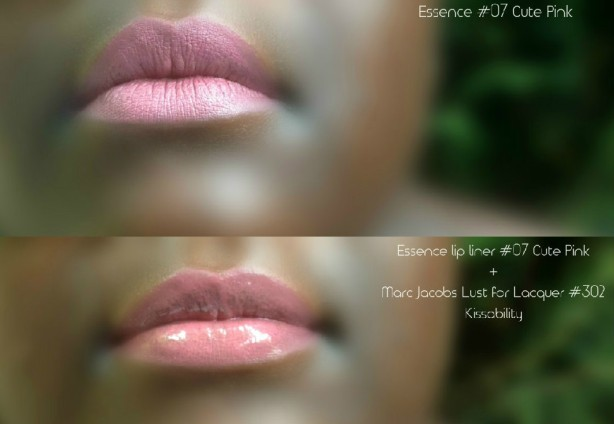 essence lipliner cute pink 07