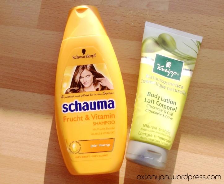 kneipp lait citronnelle olive schauma shampoo