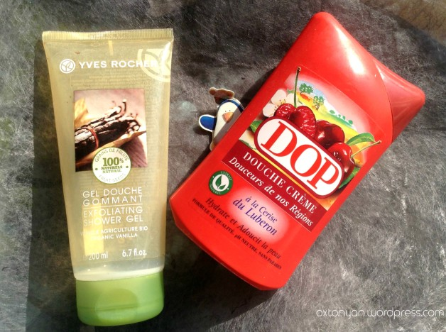 yves rocher gel gommant dop douche creme