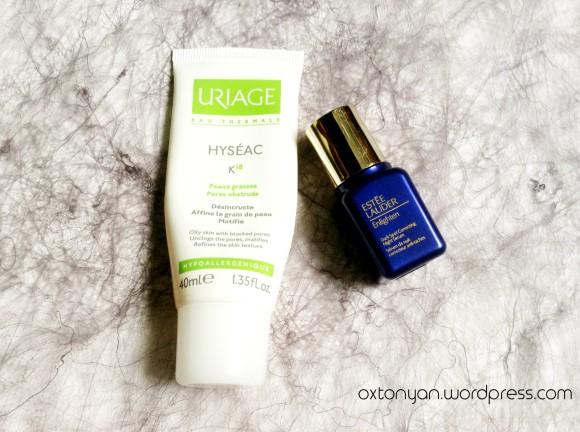 estee lauder enlighten serum uriage hyseac k18