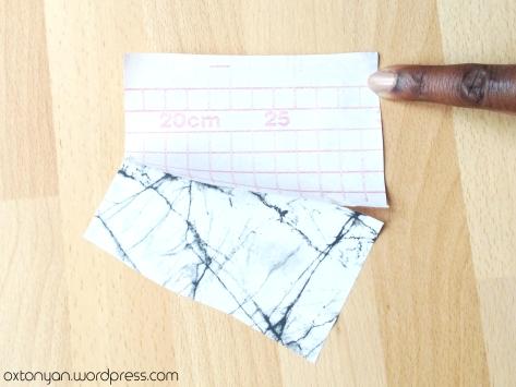 papier autocollant marbre
