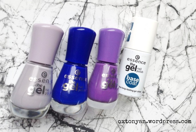 essence vernis gel nail polish
