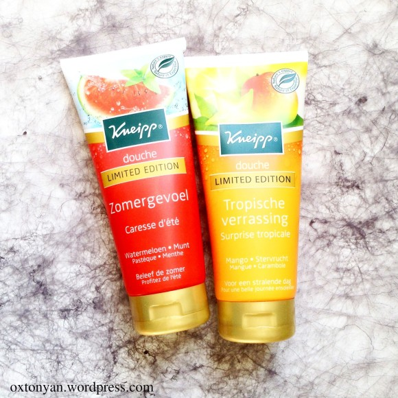 kneipp limited edition shower gel