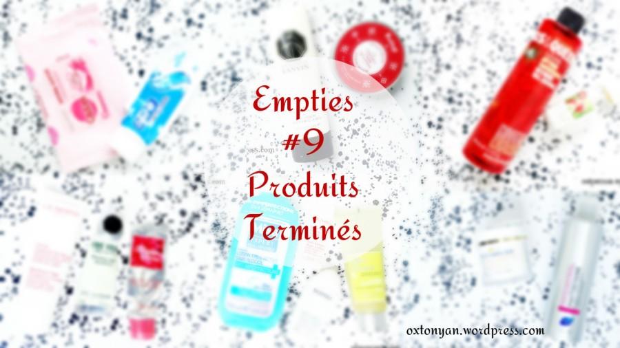 Empties #9 : Rachètera? RachèteraPas?