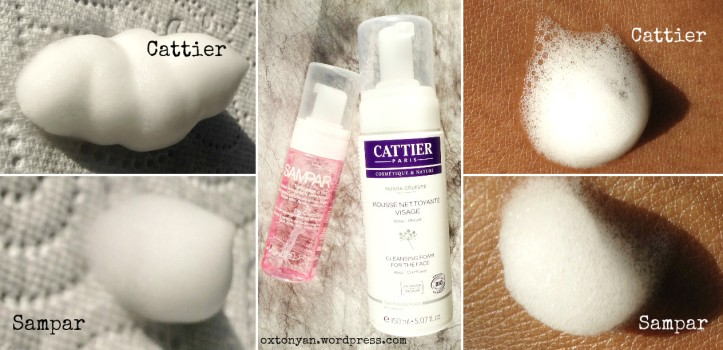 cattier mousse nettoyante sampar demo