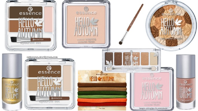 essence hello autumn fall collection