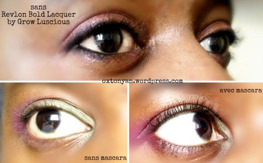 mascara revlon bold lacquer by grow luscious