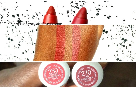 revlon colorburst matte balm demo 250 270