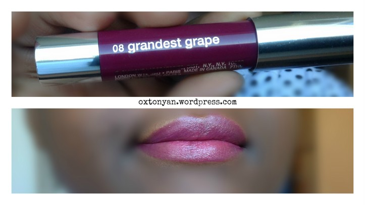 clinique chubby stick intense grandest grape 08