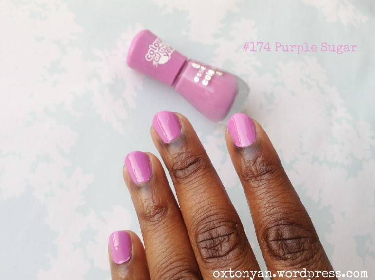 essence colour & go colour of the year 174 purple sugar