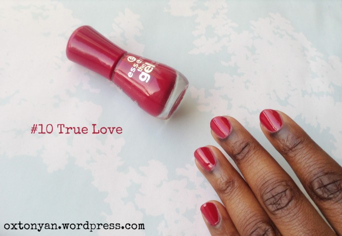 essence gel nail polish 10 true love
