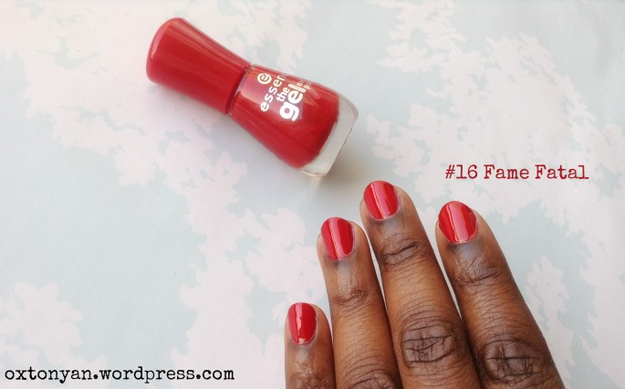 essence gel nail polish 16 fame fatal