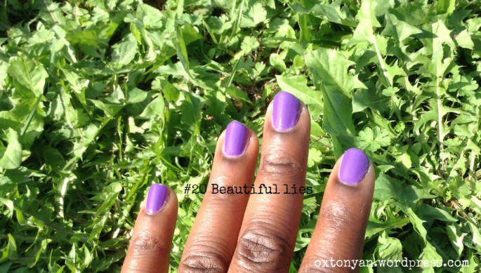essence gel nail polish 20 beautiful lies