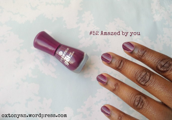 essence gel nail polish 52 amazed by you