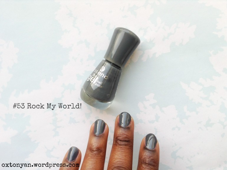 essence gel nail polish 53 rock my world