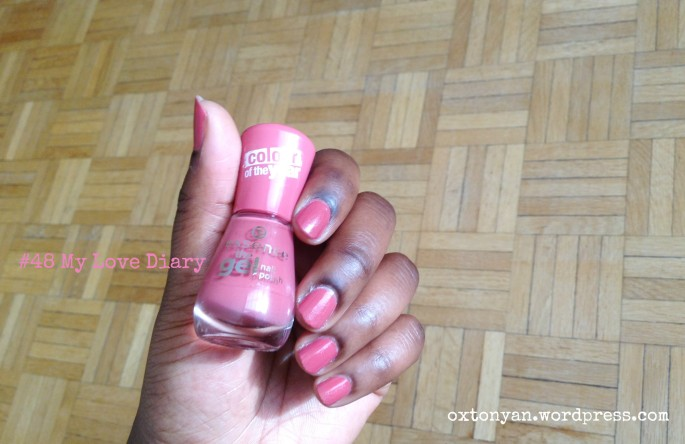 essence gel nail polish colour of the year 48 my love diary