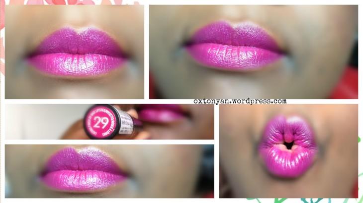 lipstick longlasting finish rimmel by kate 29