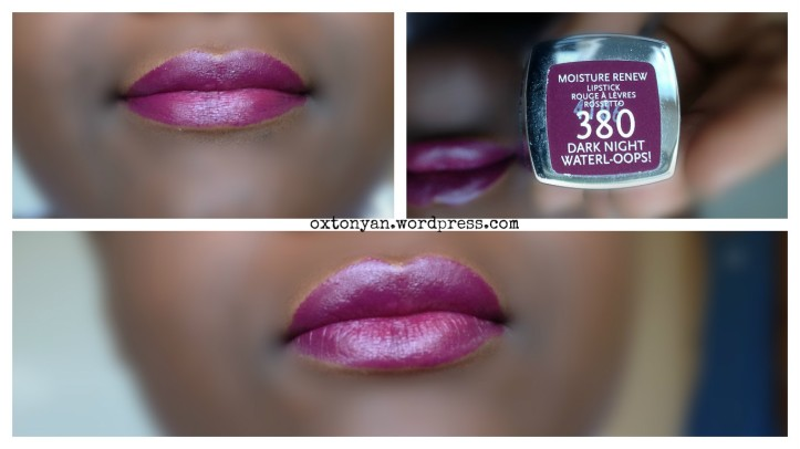moisture renew rimmel 380 dark night waterl-oops
