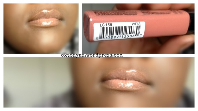 nyx mega shine gloss smokey look