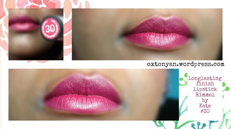 rimmel by kate lipstick 30