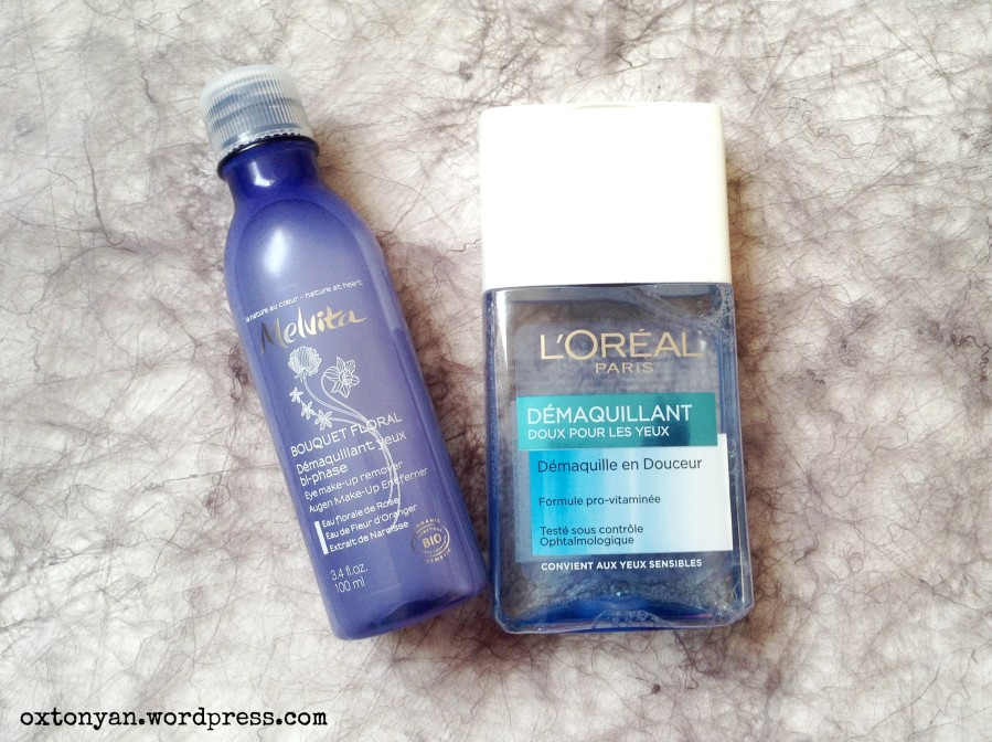 L'Oréal ou Melvita pour démaquiller mesyeux?
