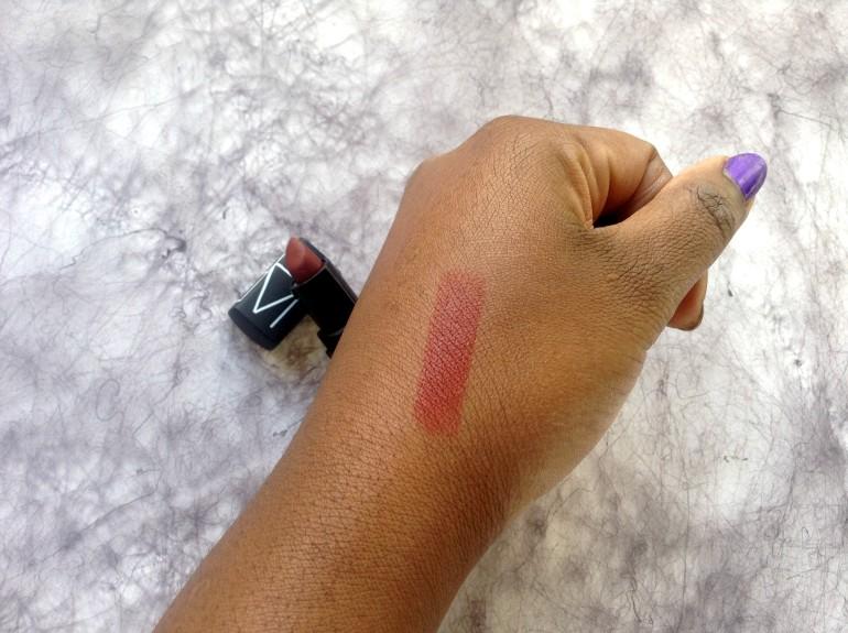 nars audacious lipstick fire down below