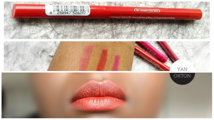 essence lipliner ready for red